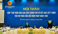 Publican resultado de la consulta popular de la reforma constitucional