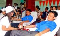 Localidades vietnamitas responden al Día nacional de donación de sangre