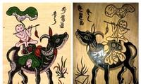 Singularidades de pintura popular de Dong Ho