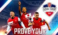 Esperado partido entre la selección nacional y el club británico Arsenal