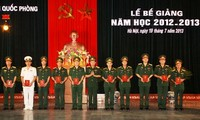Academia de Defensa debe encabezar la formación de cuadros