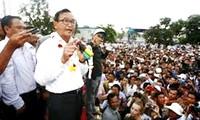 Oposición camboyana organiza segunda manifestación