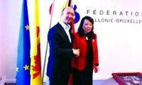 Vietnam y Bélgica complacidos de fomentar cooperación sanitaria