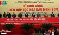 Inician construcción de la mayor refinería de Vietnam en Thanh Hoa