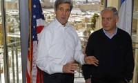 Optimista John Kerry con negociaciones Israel-Palestina