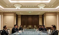 Chinese, Japanese leaders held talks