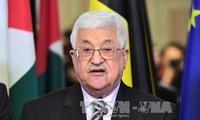 Palestinian President visits Egypt