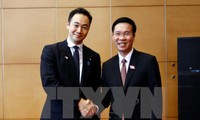 Party's senior official receives Japan's LDP delegation