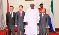 Vietnam, Sierra Leone foster multi-faceted cooperation