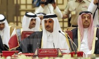Qatar leader urges end to trade embargo