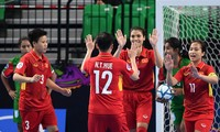 Vietnam advance to semifinal at women's futsal championship