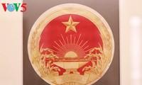 Vietnam National Emblem exhibition in Hanoi