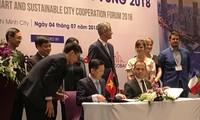 지속 가능한 스마트 도시에 관한 베트남 – 프랑스 협력 포럼