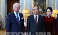 응우옌 쑤언 푹 정부총리, Carl XVI Gustav 스웨덴 국왕 회견