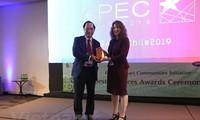 베트남, APEC의 2019년 최우수 사례상  시상