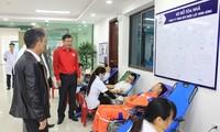 코로나 19 급성폐렴 전염병 대책으로 닌빈 성, 특별 헌혈행사 진행