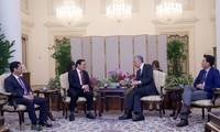 싱가포르, 베트남과의 다방면 협력 관계 촉진 희망