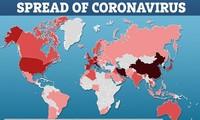 전세계 코로나 19 감염병 현황