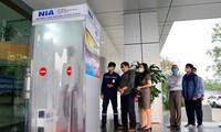 노이 바이 국제공항, 전신 소독실을 성공적으로 생산
