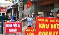 하노이, 하로이에서 코로나19 확진자 두 명 추가 발생