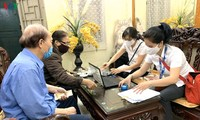 하노이시, 퇴직연금 및 사회보조금을 자택 배달을 통한 지불 시작