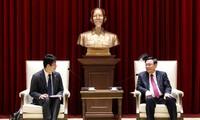 하노이시 위원회 서기, 베트남 AEONMALL 회사 회장과 접견
