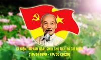 호찌민 주석 탄생 130 주년 기념에 많은 지방의 기념 축하 활동 개최