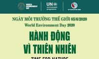 6월 5일 2020년 세계환경의 날 : « 자연을 위한 행동 »