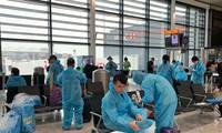 영국발 베트남 귀국민 340여 명을 안전하게 이송