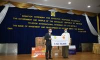 베트남 정부, 미얀마를 위한 코로나19 팬데믹 방역 지원품 전달식