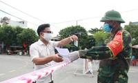 8월 3일 베트남의 코로나19 신규 확진자 22명 발생으로 베트남의 누적확진자 642명