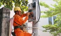 년쩌우섬 주민, 국가 전기망 사용 가능