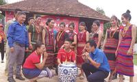 꼰뚬 (Kon Tum)성 브러우 (Brâu) 소수민족의 마을 금기 제례