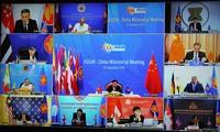 아세안, 팬데믹 대응에 대한 파트너들과의 협력 촉진; 동시에 국제법 존중에 근거한 차별 해결 희망