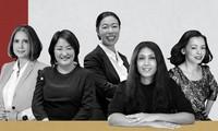 베트남 여성 두 명, 아시아 최고의  여자기업가 탑 25에 올라