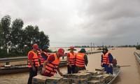 베트남 적십자회 및 하노이시, 폭우 피해를 입은 중부 주민 지원