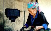 사파 몽족 전통의상