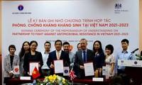 베트남, 약물 내성 방지를 위해 영국과 협력