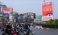 13기 전당대회 : The Sunday Times, 유리한 조건에서 베트남이 중대 행사를 진행한다고 평가