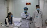 최고 백신 정량 임상시험에 들어간 지원자들의 건강, 안정적인 상태