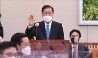 한국 정의용 신임 외교부 장관,  공식 취임