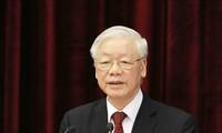 13기 베트남 공산당 집행위원회 2차 회의 폐막