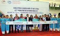 Ho Chi Minh-ville accueille son 6 millionième touriste étranger de 2017