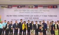 Simulation médicale internationale d'adaptation aux catastrophes à Dà Nang