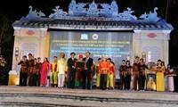 Quang Nam fête le certificat de patrimoine culturel mondial pour le chant bài chòi