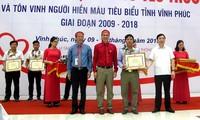 Itinéraire Rouge 2018: Plus de 2000 donneurs de sang à Vinh Phuc