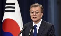 """Sommet de Pyongyang: """"initiative audacieuse"""" en vue d'un traité de paix"""