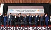 Clôture à Port Moresby de la 26e Réuion des dirigeants des économies de l'APEC