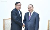 Nguyên Xuân Phuc reçoit le chef de la diplomatie cambodgienne