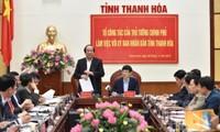 Un groupe de travail du Premier ministre dépêché à Thanh Hoa
